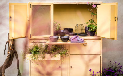 Luxusküchen im Landhausgarten