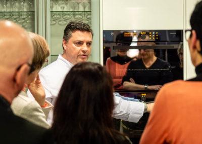 Kochkurs in der Manufaktur Hunger mit Uli Wüllenweber von der V-ZUG Gourmet Academy